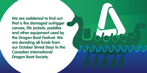 October Shred Days - Supporting Canadian International Dragon Boat Festival Society